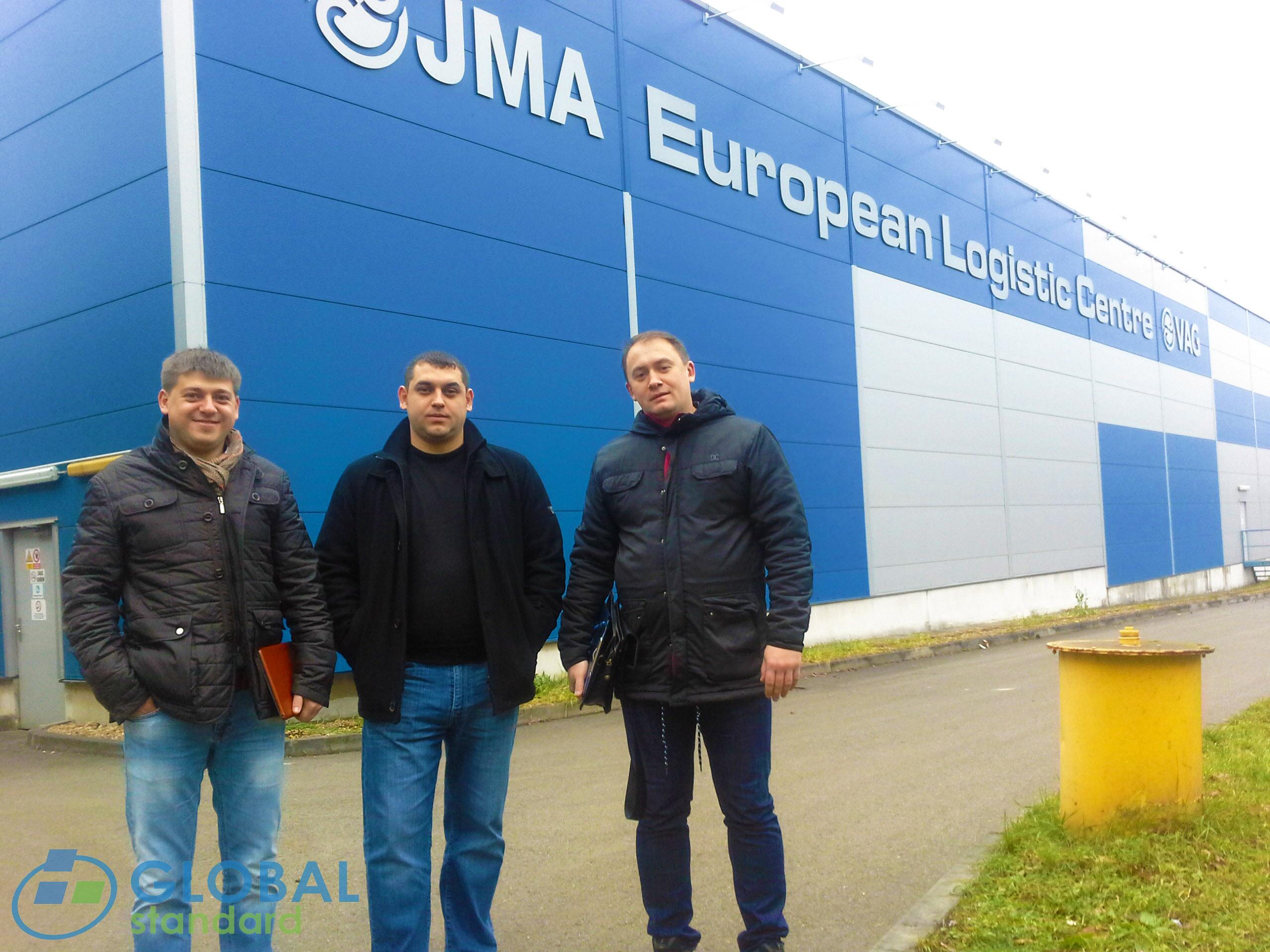 Специалисты на производстве Jihomoravska armaturka spol.s r.o.